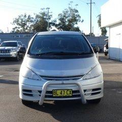 2002 Toyota Tarago ACR30R GLi Silver 4 Speed Automatic Wagon.