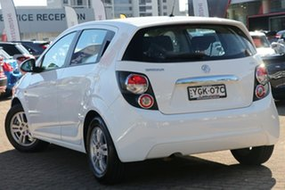 2016 Holden Barina TM MY16 CD White 6 Speed Automatic Hatchback.