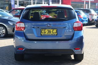 2015 Subaru Impreza MY15 2.0I-S (AWD) Quartz Blue Continuous Variable Hatchback
