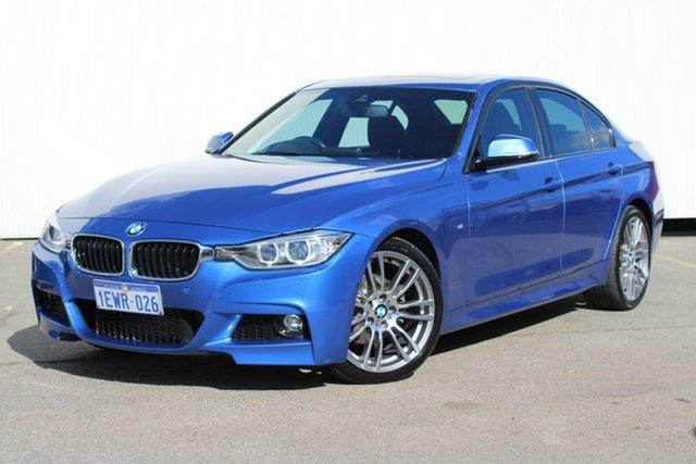 Used BMW 3 Series F30 MY1114 320d M Sport, 2015 BMW 3 Series F30 MY1114 320d M Sport Blue 8 Speed Sports Automatic Sedan