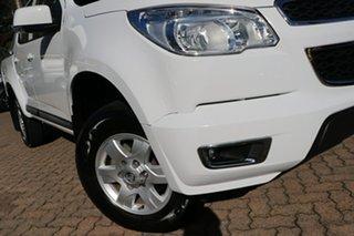 2016 Holden Colorado RG MY16 LT (4x2) White 6 Speed Automatic Crew Cab Pickup.