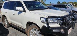 2015 Toyota Landcruiser VDJ200R MY16 VX (4x4) White 6 Speed Automatic Wagon