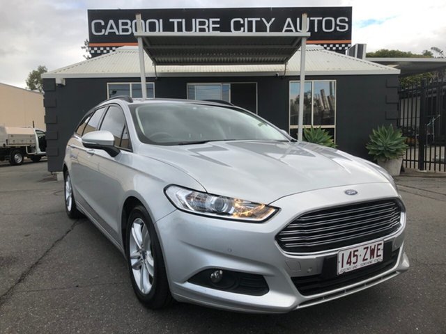 Used Ford Mondeo MD Ambiente TDCi, 2017 Ford Mondeo MD Ambiente TDCi Silver 6 Speed Automatic Hatchback