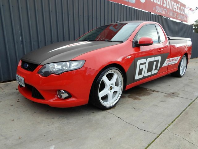 Used Ford Falcon FG XR8 Ute Super Cab, 2009 Ford Falcon FG XR8 Ute Super Cab Red 6 Speed Sports Automatic Utility