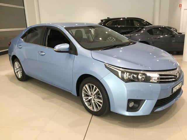 Used Toyota Corolla ZRE172R ZR S-CVT, 2014 Toyota Corolla ZRE172R ZR S-CVT Blue 7 Speed Constant Variable Sedan