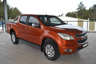 2015 Holden Colorado RG MY16 LTZ Crew Cab Orange 6 Speed Sports Automatic Utility