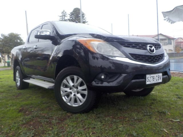 Used Mazda BT-50 UP0YF1 XTR, 2012 Mazda BT-50 UP0YF1 XTR 6 Speed Sports Automatic Utility