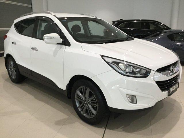 Used Hyundai ix35 LM3 MY15 Elite, 2015 Hyundai ix35 LM3 MY15 Elite White 6 Speed Sports Automatic Wagon