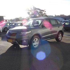 2011 Hyundai Santa Fe CM MY11 SLX Silver 6 Speed Sports Automatic Wagon.
