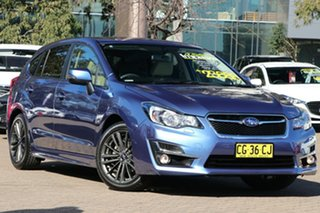2015 Subaru Impreza MY15 2.0I-S (AWD) Quartz Blue Continuous Variable Hatchback.
