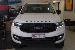 2019 Ford Everest UA II 2020.25MY Sport 4WD Arctic White 6 Speed Sports Automatic Wagon.
