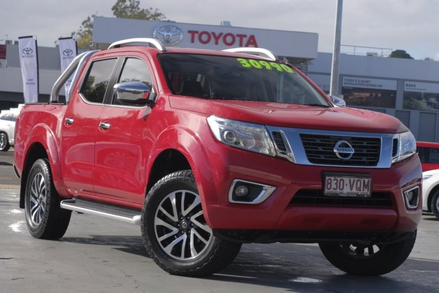 Used Nissan Navara D23 ST-X, 2015 Nissan Navara D23 ST-X Red 7 Speed Sports Automatic Utility