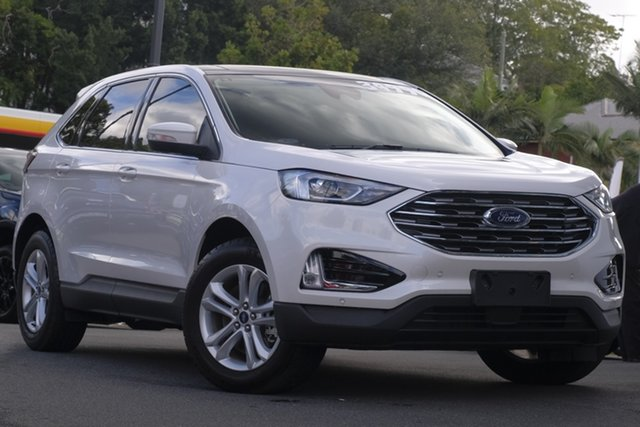 Demo Ford Endura CA 2019MY Trend SelectShift FWD, 2018 Ford Endura CA 2019MY Trend SelectShift FWD White Platinum 8 Speed Sports Automatic Wagon