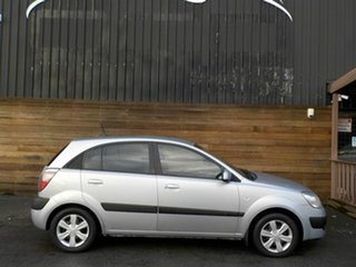 2007 Kia Rio JB MY07 LX Silver 4 Speed Automatic Hatchback.