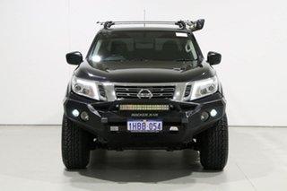 2017 Nissan Navara D23 Series II SL (4x4) Black 7 Speed Automatic Dual Cab Utility.