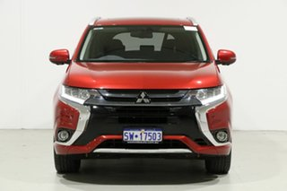 2015 Mitsubishi Outlander ZK MY16 PHEV Exceed Red 1 Speed Automatic Wagon.