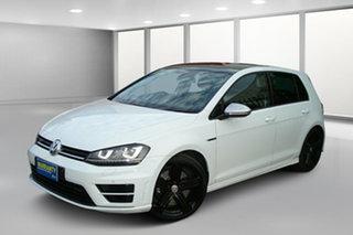 2014 Volkswagen Golf VII MY15 R 4MOTION White 6 Speed Manual Hatchback.