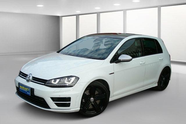 Used Volkswagen Golf VII MY15 R 4MOTION, 2014 Volkswagen Golf VII MY15 R 4MOTION White 6 Speed Manual Hatchback