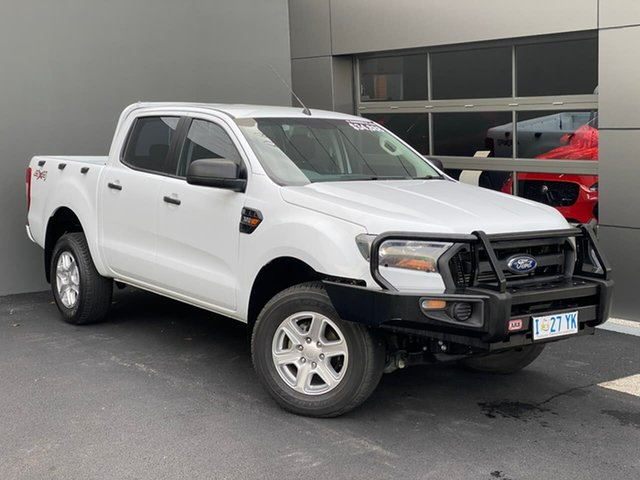 Used Ford Ranger PX MkII XL Double Cab, 2017 Ford Ranger PX MkII XL Double Cab White 6 Speed Sports Automatic Utility