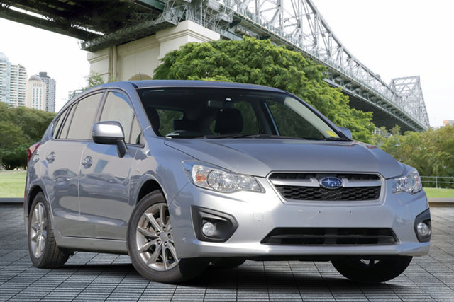 Used Subaru Impreza G4 MY14 2.0i Lineartronic AWD Luxury, 2014 Subaru Impreza G4 MY14 2.0i Lineartronic AWD Luxury Silver 6 Speed Hatchback