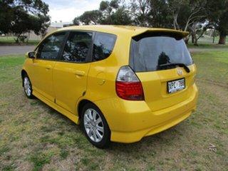 2007 Honda Jazz GD VTi-S 7 Speed Constant Variable Hatchback