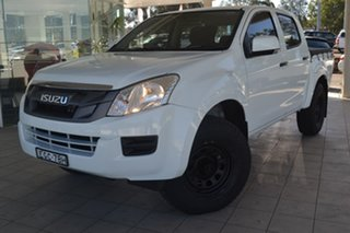 2013 Isuzu D-MAX (No Series) SX White Sports Automatic.