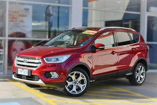 2019 Ford Escape ZG 2019.25MY Titanium AWD Red 6 Speed Sports Automatic Wagon.