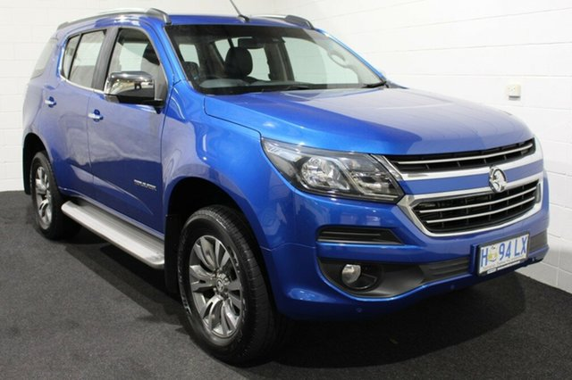 Used Holden Trailblazer RG MY18 LTZ, 2017 Holden Trailblazer RG MY18 LTZ Power Blue 6 Speed Sports Automatic Wagon