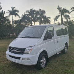 2015 LDV V80 Low Roof SWB White 6 Speed Automated Manual Bus