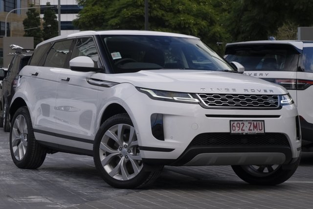 Demo Land Rover Range Rover Evoque L551 MY20.25 D240 SE, 2019 Land Rover Range Rover Evoque L551 MY20.25 D240 SE Fuji White 9 Speed Sports Automatic Wagon