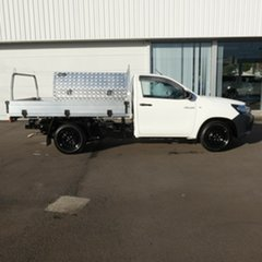 2018 Toyota Hilux GUN122R Workmate 4x2 White 5 Speed Manual Cab Chassis