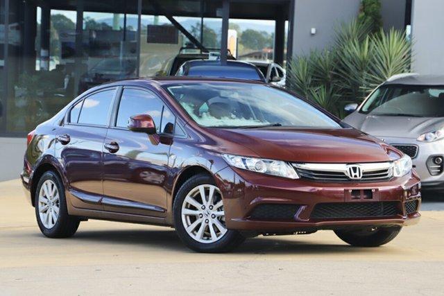 Used Honda Civic 9th Gen Ser II VTi-L, 2012 Honda Civic 9th Gen Ser II VTi-L Red 5 Speed Sports Automatic Sedan