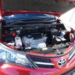 2013 Toyota RAV4 ASA44R GX AWD Red 6 Speed Manual Wagon