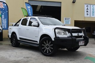 2012 Holden Colorado RG LX (4x4) White 5 Speed Manual Crew Cab Pickup