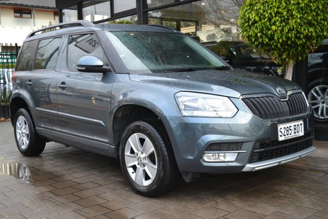 Used Skoda Yeti 5L MY14 77TSI DSG Active, 2014 Skoda Yeti 5L MY14 77TSI DSG Active Grey Metallic 7 Speed Sports Automatic Dual Clutch Wagon