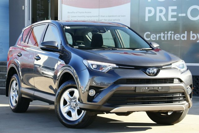 Used Toyota RAV4 ASA44R MY17 GX (4x4), 2017 Toyota RAV4 ASA44R MY17 GX (4x4) Graphite 6 Speed Automatic Wagon