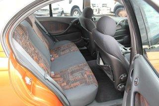 2001 Holden Commodore VX S Orange 4 Speed Automatic Sedan