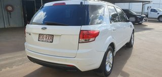 2011 Ford Territory SZ TX (RWD) White 6 Speed Automatic Wagon.