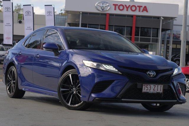 Used Toyota Camry ASV70R SX, 2018 Toyota Camry ASV70R SX Lunar Blue 6 Speed Sports Automatic Sedan