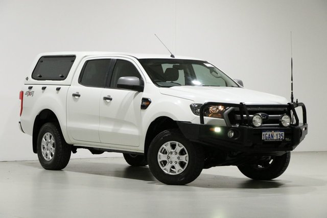 Used Ford Ranger PX MkII XLS 3.2 (4x4), 2016 Ford Ranger PX MkII XLS 3.2 (4x4) White 6 Speed Automatic Dual Cab Utility