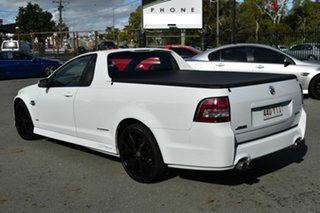 2012 Holden Commodore VE II MY12 SS Thunder White 6 Speed Manual Utility