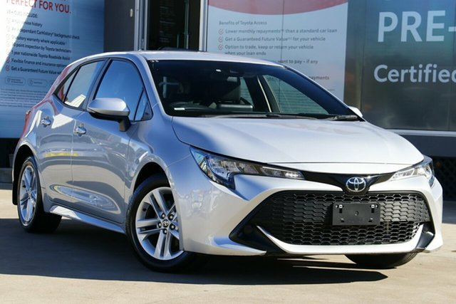 Used Toyota Corolla Mzea12R Ascent Sport, 2018 Toyota Corolla Mzea12R Ascent Sport Premium Silver Continuous Variable Hatchback