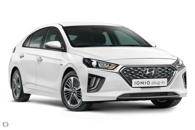 New Hyundai Ioniq AE.3 MY20 plug-in DCT Elite, 2020 Hyundai Ioniq AE.3 MY20 plug-in DCT Elite Polar White 6 Speed Sports Automatic Dual Clutch