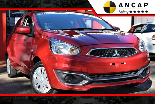Used Mitsubishi Mirage LA MY19 ES, 2018 Mitsubishi Mirage LA MY19 ES 1 Speed Constant Variable Hatchback