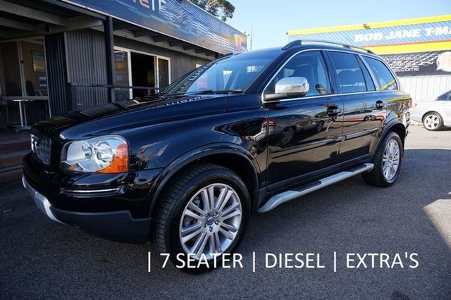 Used Volvo XC90 P28 MY10 D5 Geartronic Executive, 2010 Volvo XC90 P28 MY10 D5 Geartronic Executive Black Sapphire 6 Speed Sports Automatic Wagon