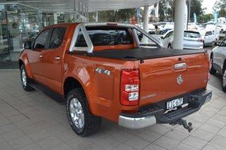 2015 Holden Colorado RG MY16 LTZ Crew Cab Orange 6 Speed Sports Automatic Utility