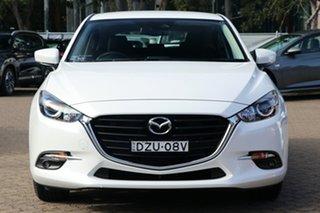2018 Mazda 3 BN MY18 Maxx Sport (5Yr) White 6 Speed Automatic Hatchback