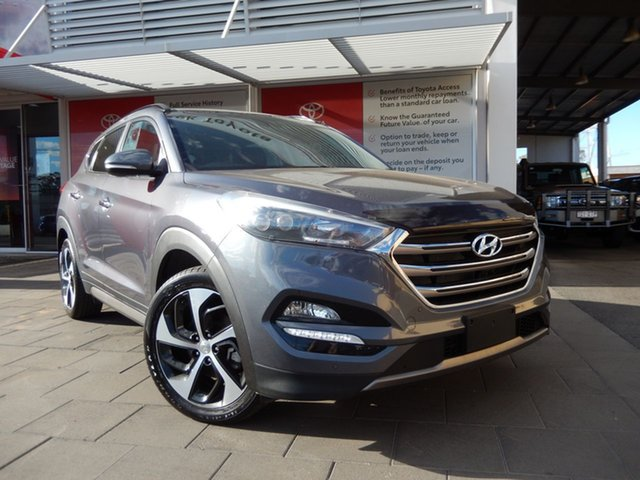 Used Hyundai Tucson TLE Highlander D-CT AWD, 2015 Hyundai Tucson TLE Highlander D-CT AWD Blue 7 Speed Sports Automatic Dual Clutch Wagon