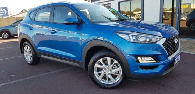Used Hyundai Tucson TL3 MY19 Active X 2WD East Bunbury, 2019 Hyundai Tucson TL3 MY19 Active X 2WD Blue 6 Speed Automatic Wagon