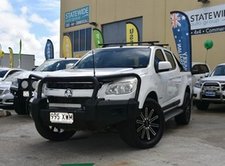 2012 Holden Colorado RG LX (4x4) White 5 Speed Manual Crew Cab Pickup.